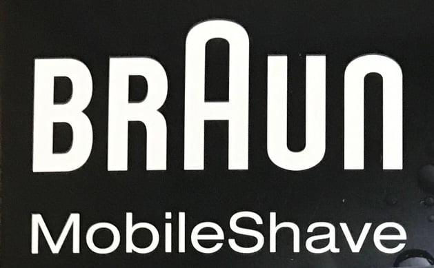 ブラウン 髭剃り