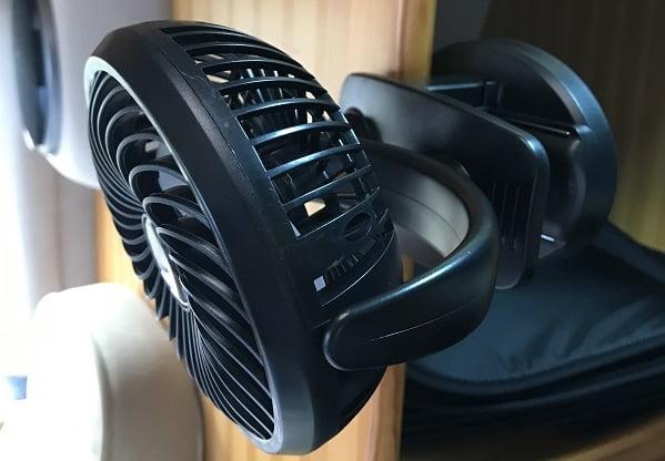 USB充電式扇風機