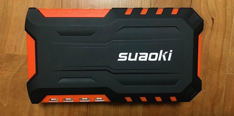 Suaoki製のジャンプスターター・モバイルバッテリー